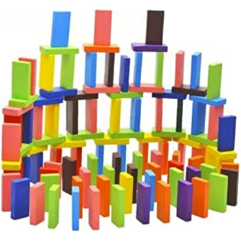 Shopoholic 12 Color Wooden Blocks for Kids Building Blocks Toy Educational Game(120 Pieces)