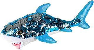 Sequinimals Sequin Plush Great White Shark SMALL ~Adorable 14