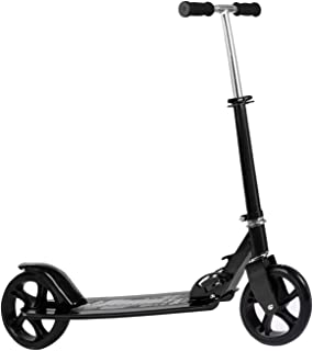 Kids/Adult Scooter with 3 Seconds Easy-Folding System, 220lb Folding Adjustable Scooter Without Disc Brake and 200mm Large Wheels