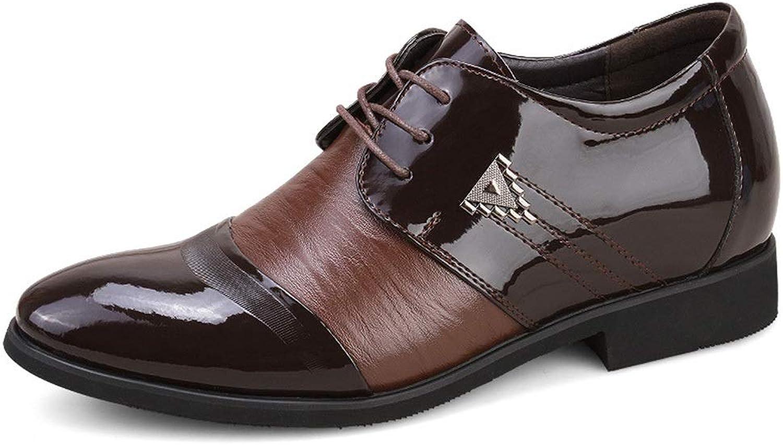 läder mocka mocka mocka läder Business Casual skor Män's läder skor Cricket skor (färg  bspringaaa, Storlek  40)  heta sportar