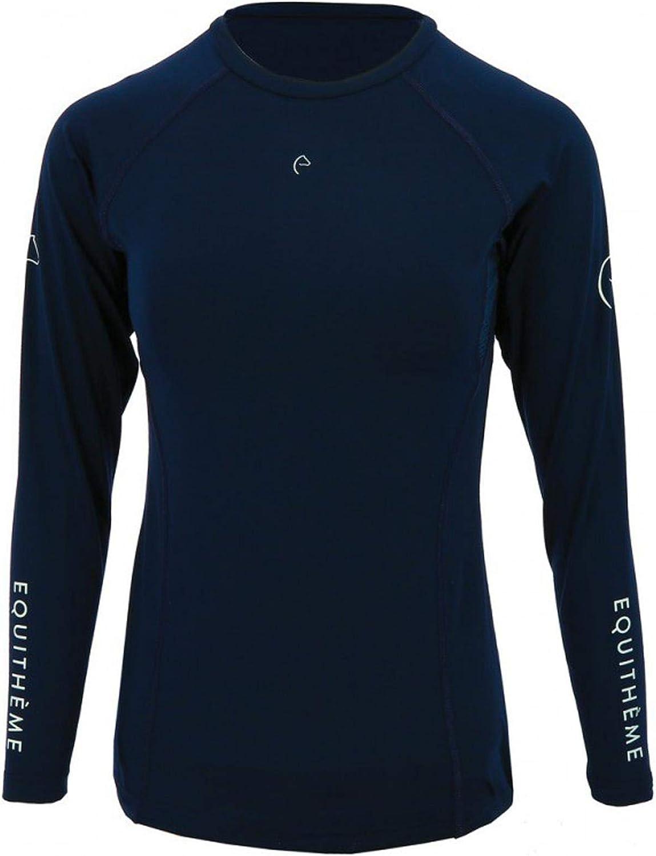 Equi-Theme Air Ladies Horse Riding Fashion Walking Country Long Sleeve T-Shirt