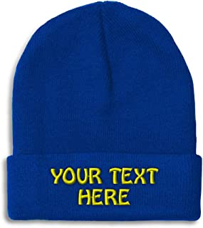 Personalized Beanie Caps
