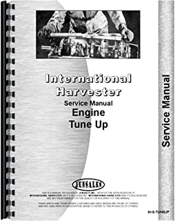 New International Harvester Tune Up Specs Tractor Service Manual