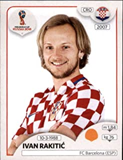 2018 Panini World Cup Stickers Russia #321 Ivan Rakitic Croatia Soccer Sticker