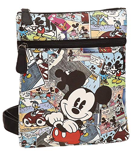 Disney Mickey Comic Bolso Bandolera, 0.48 litros, Color