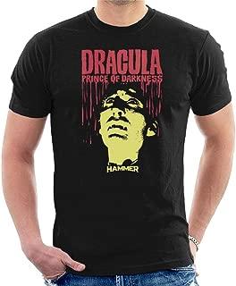 Hammer Dracula Prince of Darkness Poster Men's T-Shirt