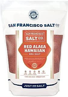 Red Alaea Hawaiian Sea Salt - 2 lb. Bag Fine Grain by San Francisco Salt Company
