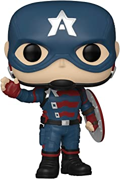 Funko Pop! Marvel: The Falcon and The Winter Soldier - John F. Walker, 3.75 inches