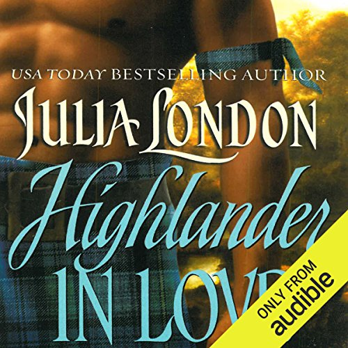 Highlander in Love audiobook cover art