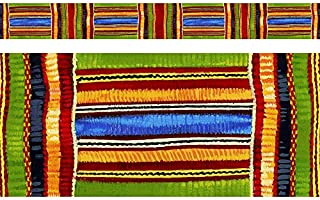 TREND enterprises, Inc. Kente Cloth Bolder Borders, 35.75'