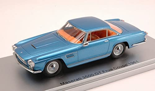 KESS MODEL KS43014050 MASERATI 3500 GT FRUA COUPE' 1961 Blau 1 43 DIE CAST