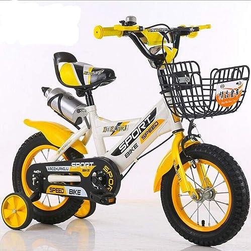 alta calidad general YAMEIJIA-sports Bicicleta para Niños 14 Pulgadas Pedal Pedal Pedal de Bicicleta Asiento Ajustable Mango Niños y niñas en Bicicleta  ahorra hasta un 30-50% de descuento