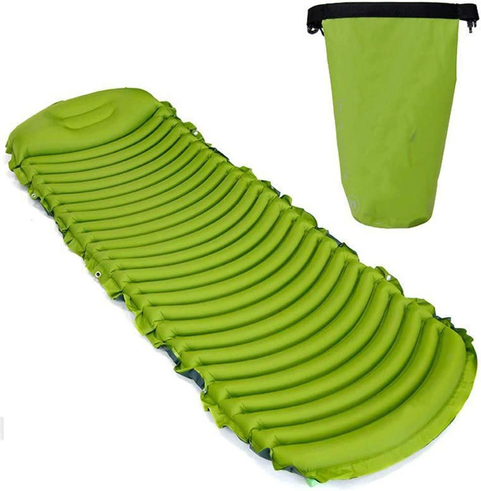 Cheap mail order sales GYFHMY 2 in 1 Camping Inflatable N Sleeping Pillow 75D Sale with Pad