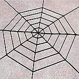 Decoraciones Halloween Black Spider Web Pumpkin Table Confetti Scatter Centro De Mesa Globo Murciélago Bruja Chico Candy Treat Bolsa De Regalo Decoración De Halloween Regalo 1