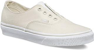 764cf4ba3e0d86 Vans Authentic Gore Leather Canvas Bone White Sz 3.5m 5.0w