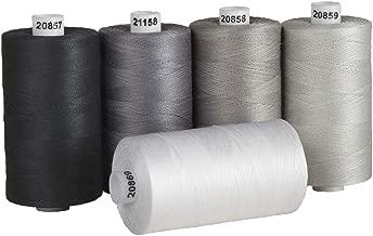 Best dark grey sewing thread Reviews