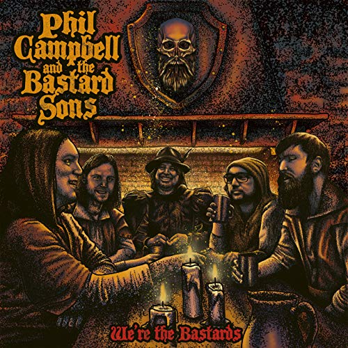 Phil Campbell And The Bastard Sons - We'Re The Bastards (CD)