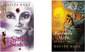 Sita's Sister + Karna's Wife: The Outcast's Queen (Set of 2 Books)
