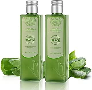 Aloderma Fresh Organic Aloe Vera Vitality Juice Skin Hydrator (240ml x 2 packs)