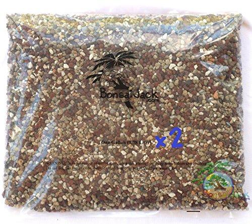 Bonsai Jack Inorganic Bonsai Soil Mix 11011 pH 6.7. 2 Gallons