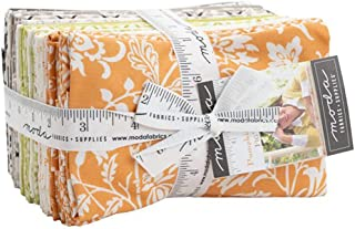 """Pumpkins & Blossoms Moda Fat Eighth Bundle - 38 9""""x22"""" Fat eighths by Joanna Figueroa of Fig Tree Quilts"""