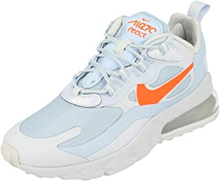 Nike Womens Air Max 270 React Running Trainers CV3022 Sneakers Shoes (uk 7 us 9.5 eu 41, hydrogen blue hyper crimson 400)