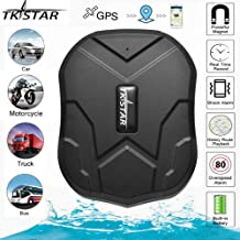TKSTAR GPS Tracker for Vehicles Car Motorcycle Trucks,TK905 IPX6 Waterproof GPS Loctor Strong Magnetic 5000mah Realtime Track Device Accurate Position Voice Monitor for iOS&Android - Lifetime Free