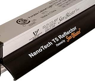Sunblaster 904298 NanoTech T5 High Output Fixture Reflector Combo, 4-Feet