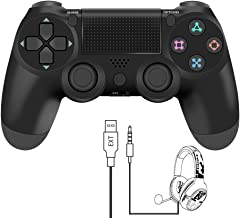 $32 » YCCTEAM Wireless Controller for PS4 - Video Game Precision Control Gamepad Joystick for Playstation 4/Pro/Slim (Black)