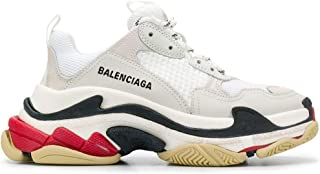 Luxury Fashion | Balenciaga Women 524037W09E19000 White Polyester Sneakers | Season Permanent