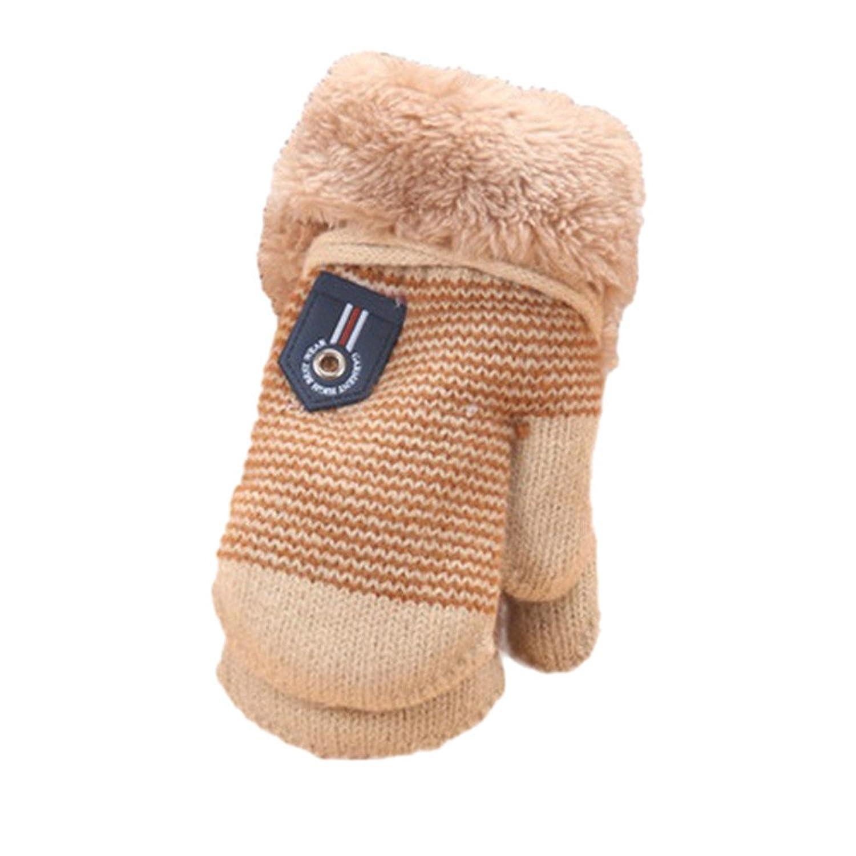 ルテンズ(Lutents)手袋 子供用 ニット グローブ リボン手袋 保温 防寒 女の子 通学 子供用 ガールズ かわいいデザイン入り 冬用手袋 秋冬 軽量 汚れにくい アクセサリー