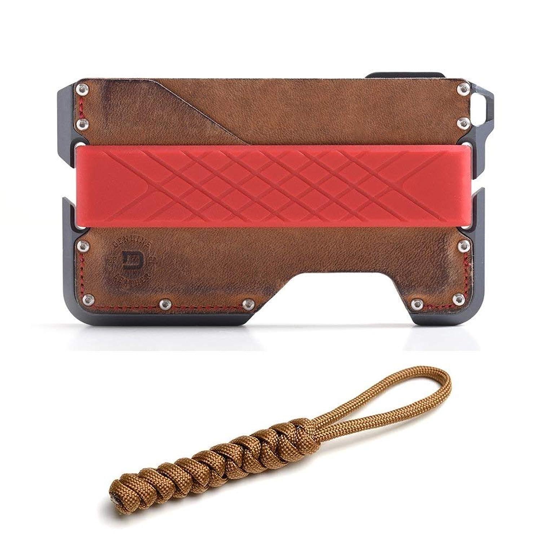 DANGO Dapper Wallet D01 多機能 ウォレット カードケース 財布 パラコード ストラップセット [並行輸入品]
