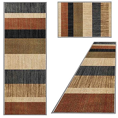 ACUY Sofa Teppich 80x280cm, Teppich Läufer Küche rutschfest & leicht abwaschbar für Wohnzimmer Flur Küche