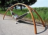 DEMA Hängemattengestell HMG 350 Holz'Brücke'