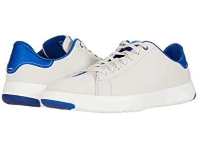 Cole Haan GrandPro Tennis Sneaker (Birch/Optic White/True Blue) Men