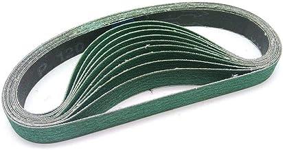 STEDMNY Schuurband 10pcs 520 * 20mm Zirkonium Corundum Riem Schuurband voor Air Metal Riem Grinder Tool 60#