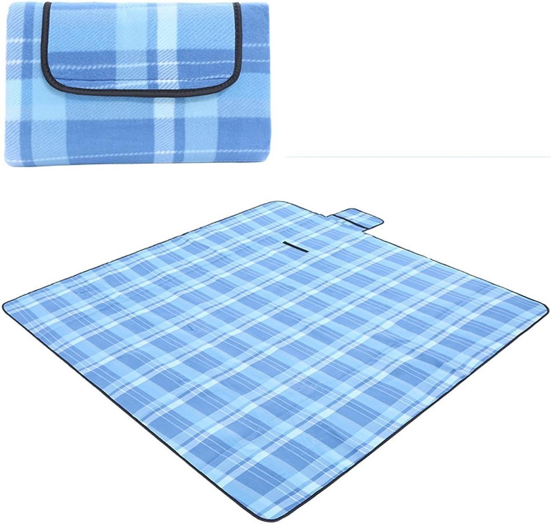 XRXY Picnic Blanket Outdoor Printing Waterproof Moisture Proof Pad Thicken Beach Picnic Cushion Portable Lightweight Tent Carpet Lawn Leisure Mat Outdoor Moistureproof Mat