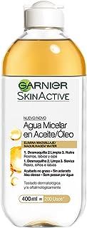 comprar comparacion Garnier Skin Active, Agua micelar (piel grasa, en aceite waterproof) - 400 ml.