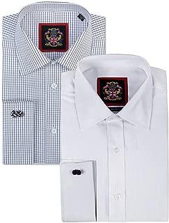 The Canterbury Self Stripe Mens Shirts, Business Formal Dress Office Wedding