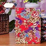 Mariposa Japonesa Grulla Impresa Patchwork Tela Algodón Flor de Cerezo Bronceado Manualidades de Costura DIY, 6