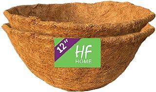 HFHOME - Forro de Coco, Grueso Premium Fibra de Coco para Colgar Cesta