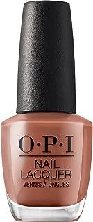 OPI Nail Lacquer, Long Lasting Nail Polish, Browns, 0.5 Fl Oz