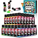 24-Count Kxuhivc Acrylic Paint Set