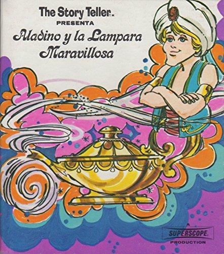 Aladino y la lámpara maravillosa. Diseño y dibujos de Rex Irvine y Jonn Strej...