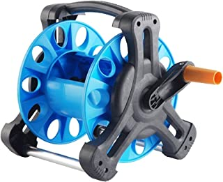 Garden Hose Reel, with Up to 20 M Capacity, Portable Free Standing Hose Reel Holder for Household Gardening and Cleaning, Excellent Gardening Aids