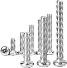 SENDILI Phillips Schroef - 304 Roestvrijstalen Pan Machineschroeven Voor Het Bevestigen Van Componenten, Industriële en Co...