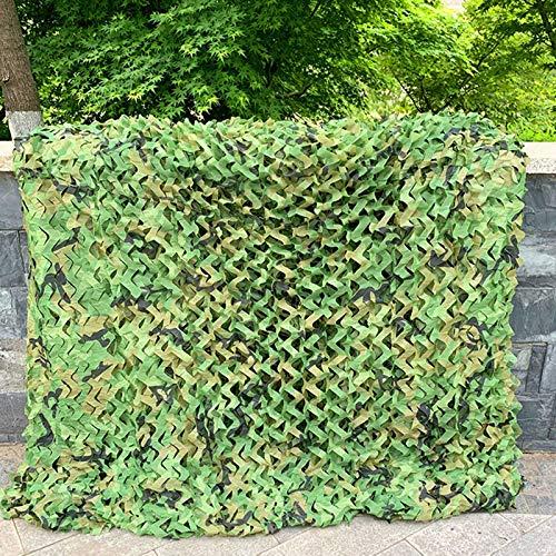 Red de Camuflaje para Camufar, 1/1.5/2/3/4/5/6/7/8/9/10/12/15/20 M, Camouflage Netting Ligero Impermeable Malla de Camuflaje para el Dormitorio de los niños