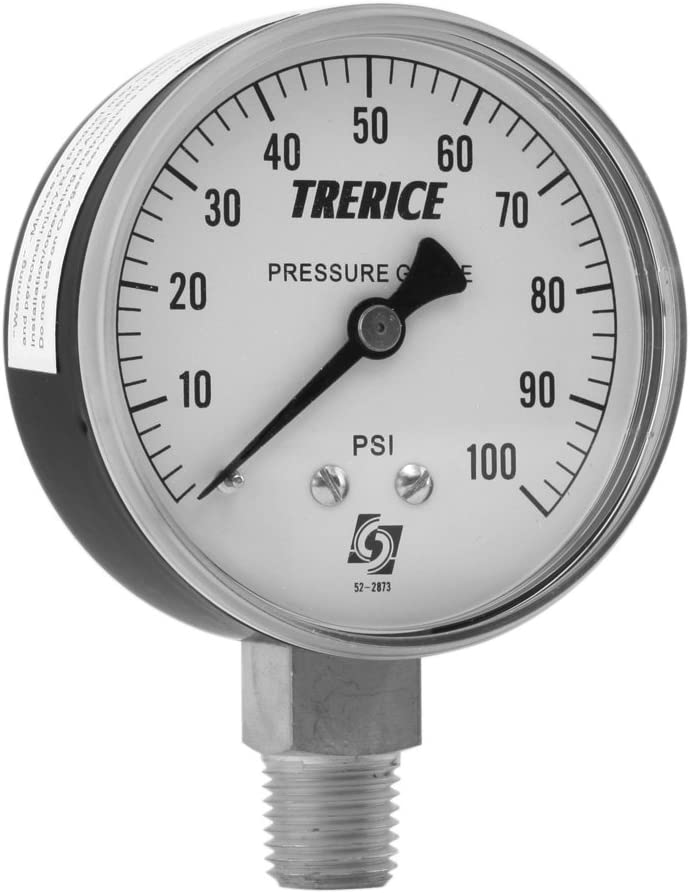 Large Pressure Gauge Industrial Gauge Trerice Gauge Large Industrial Gauge