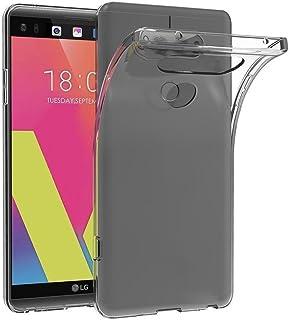 Case for LG V30 / LG V30 Plus (6 inch) MaiJin Soft TPU Rubber Gel Bumper Transparent Back Cover