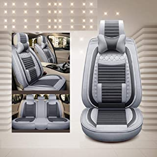 FSXTLLL Fundas de Asiento de Coche, para Volvo 850 s40 s60 s80 s80l v40 v50 v60 v70 xc60 xc70 xc90 2017 2016 2015
